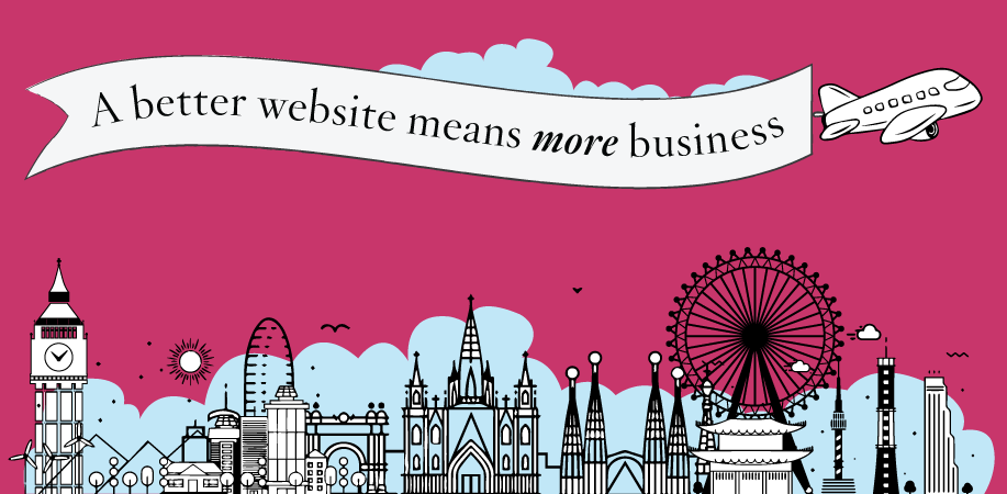 Better website means more business